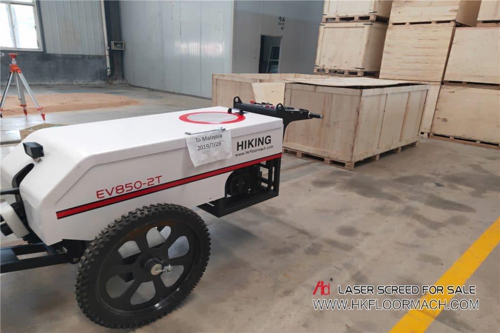 laser leveling machine
