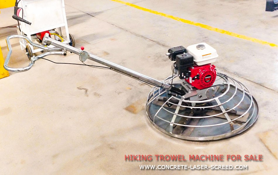 W100-c Walk behind Trowel machine (chromium plating)