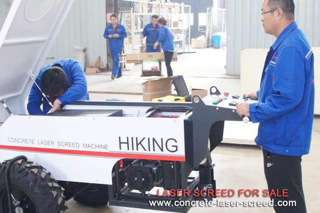 Operation-of-laser-screed