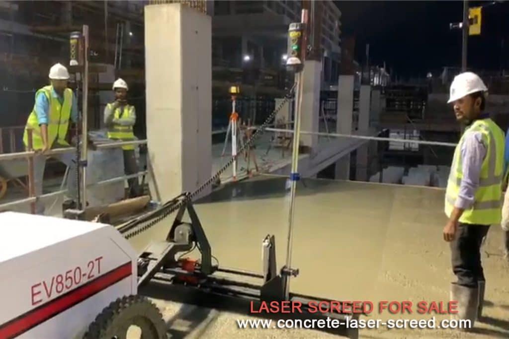 laser screed concrete flooring